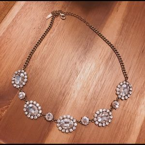 Baublebar Crystal Dahlia Strand Necklace